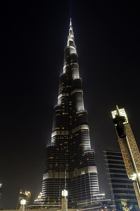 Burj Khalifa By Night Photograph By Pier Giorgio Mariani