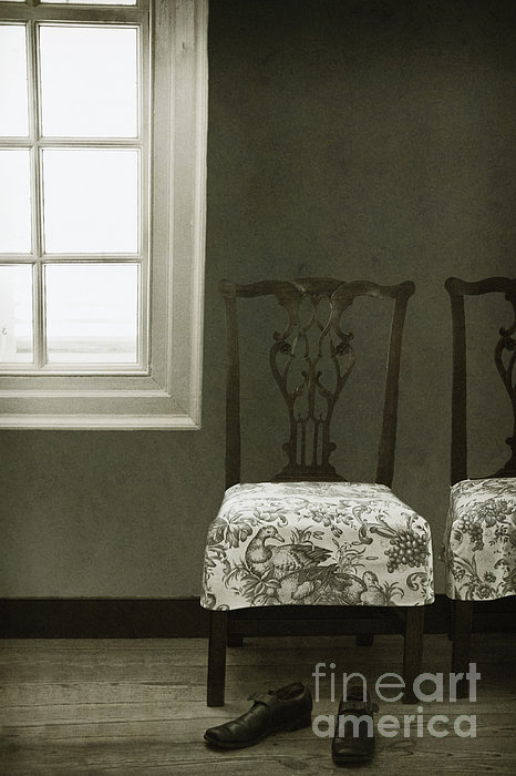 Chairs Photograph - By The Window by Margie Hurwich