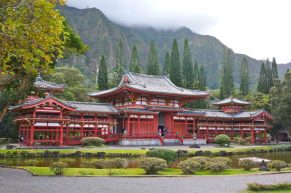 Byodo-in Photograph  - Byodo-in Fine Art Print