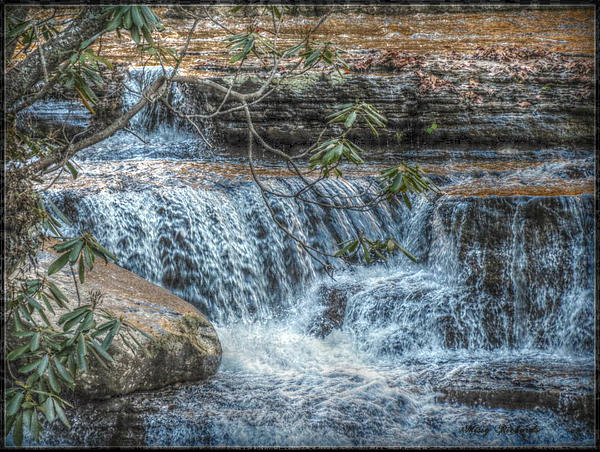Photograph - Camp Creek Falls by Missy Richards
