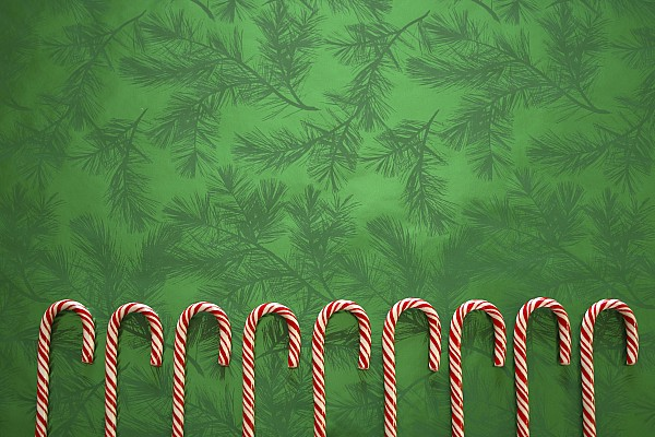 Candy-cane Photograph - Candy Canes by Colette Scharf