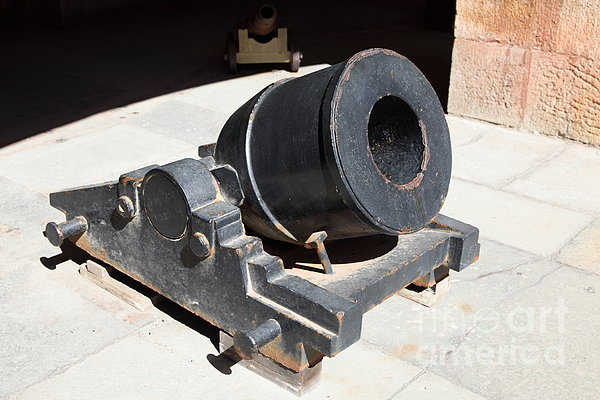 San Francisco Photograph - Cannon At San Francisco Fort Point 5d21489 by Wingsdomain Art and Photography