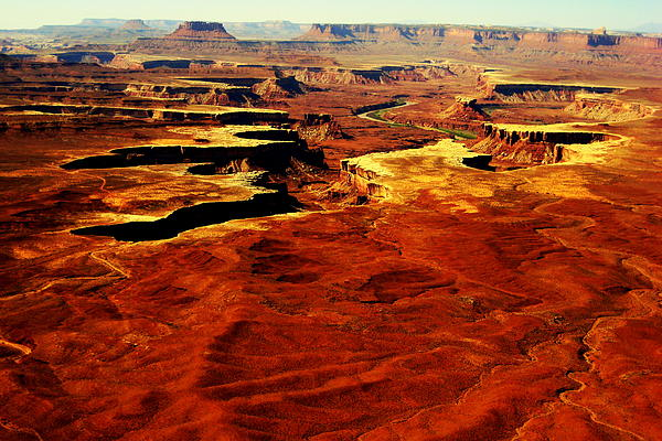 Canyonlands Photograph - Canyonlands White Rim  by Terry Johnson