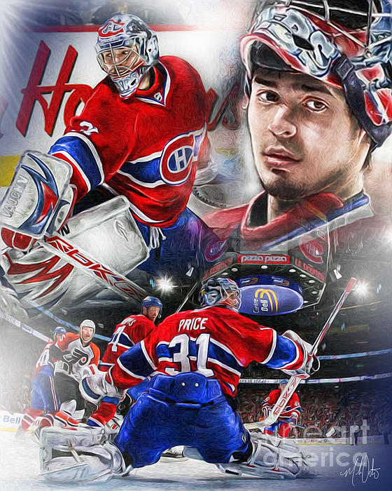 Case Design create you own phone case : Carey Price Greeting Card for Sale by Mike Oulton