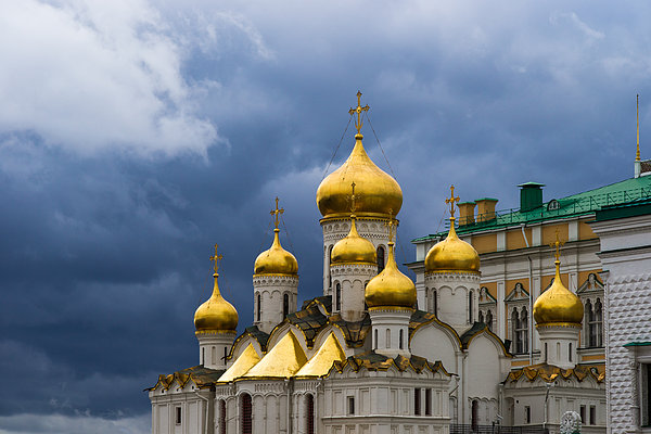Cathedral Of The Annunciation Of Moscow Kremlin Photograph  - Cathedral Of The Annunciation Of Moscow Kremlin Fine Art Print