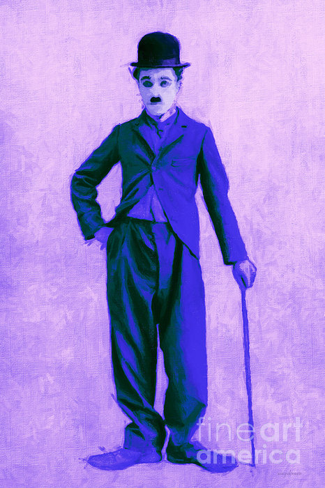 Charlie Photograph - Charlie Chaplin The Tramp 20130216m60 by Wingsdomain Art and Photography