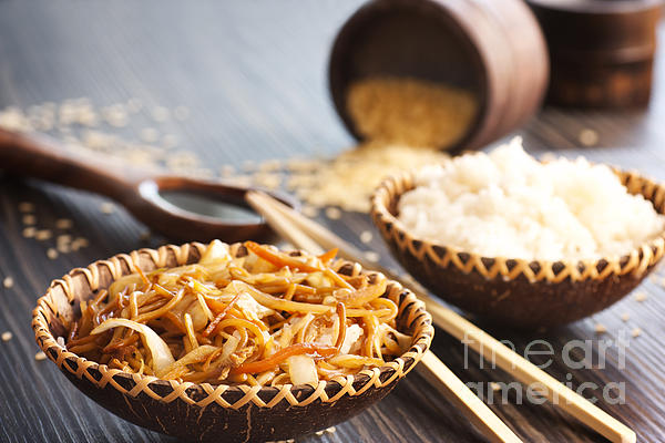 Appetizer Photograph - Chinese Food by Mythja  Photography