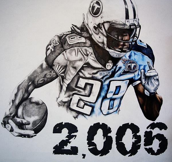 Chris Johnson Drawing  - Chris Johnson Fine Art Print