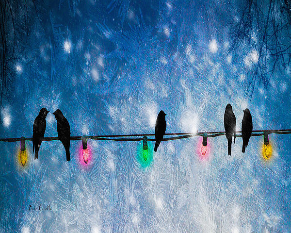 Christmas Lights Photograph  - Christmas Lights Fine Art Print