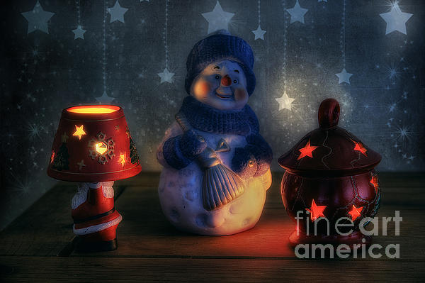 Christmas Ornaments Photograph  - Christmas Ornaments Fine Art Print