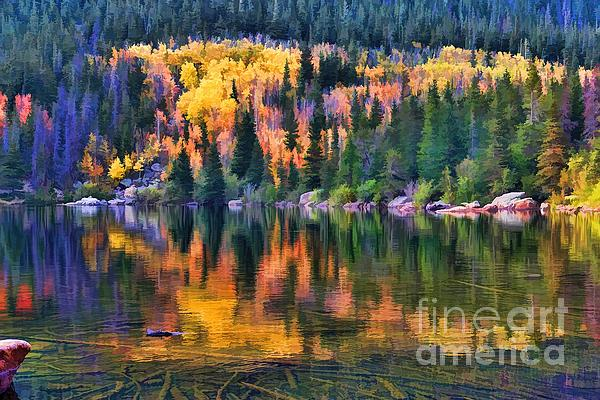 Colorado Autumn Photograph  - Colorado Autumn Fine Art Print
