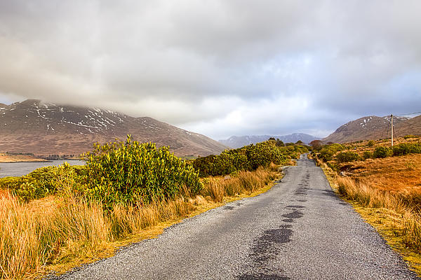 Connemara Roads - Irish Landscape Photograph  - Connemara Roads - Irish Landscape Fine Art Print