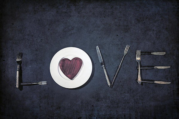 Love Photograph - Cooking With Love by Joana Kruse