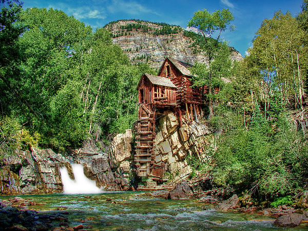 Crystal Mill Photograph - Crystal Mill Crystal Colorado by Ken Smith