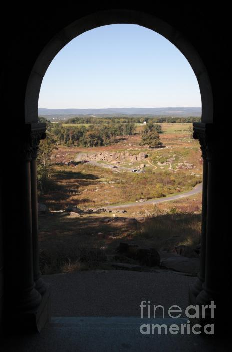 Devils Den From Little Round Top In Gettysburg Photograph