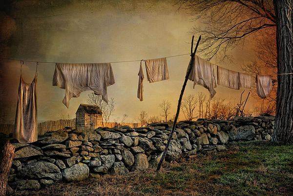 Dirty Linen Photograph  - Dirty Linen Fine Art Print