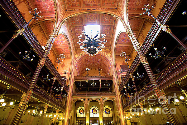 Dohany Synagogue In Budapest Photograph