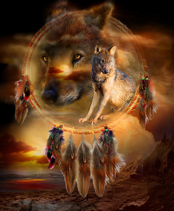 Carol Cavalaris - Dream Catcher - WolfLand