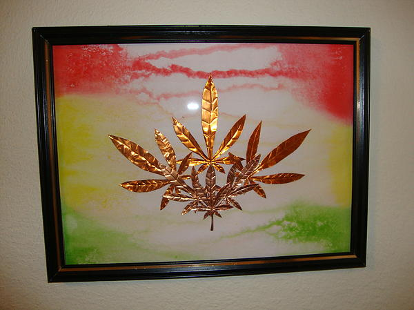 Metal Mixed Media - Dream Leaves Two by Scott Faucett