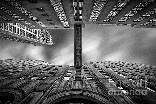 New York In Black And White Photograph - East 24th by John Farnan