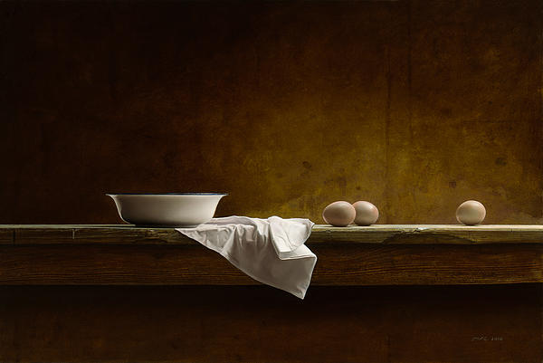 Mark Van crombrugge - Eggs on a Table