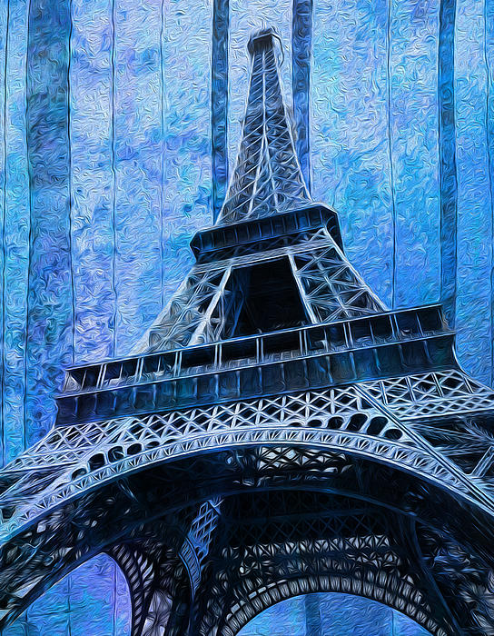 Eiffel Painting - Eiffel Tower 2 by Jack Zulli