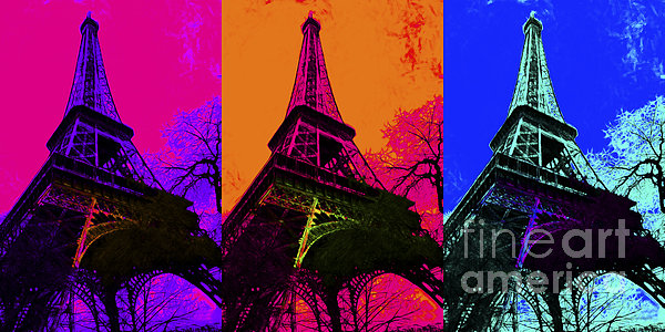 Europe Photograph - Eiffel Tower Three 20130116 by Wingsdomain Art and Photography