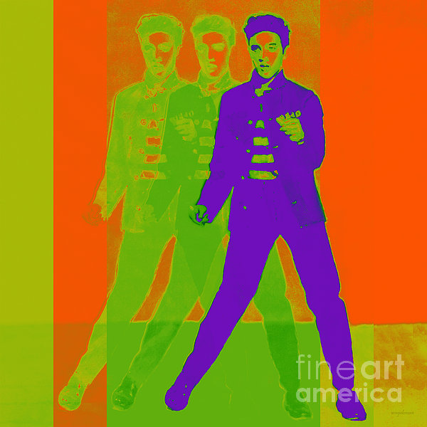 Elvis Presley Photograph - Elvis Jail House Rock 20130215m28 by Wingsdomain Art and Photography