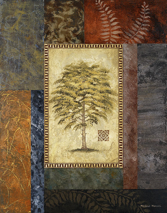 Eucalyptus Tree II Painting