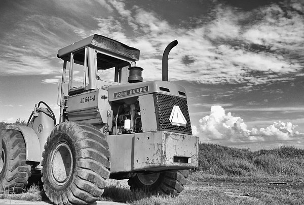 Black And White  Photograph - Extreme Equipment by Tom Druin
