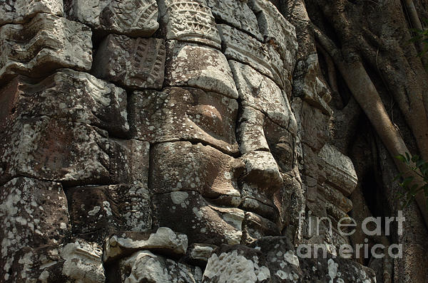 Bob Christopher - Face At Banyon Ankor Wat Cambodia