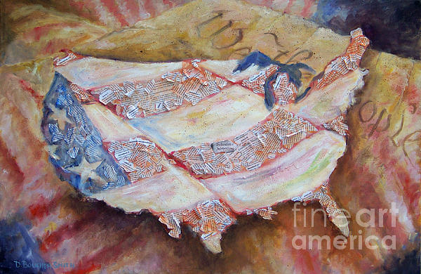 Faded Glory Painting  - Faded Glory Fine Art Print