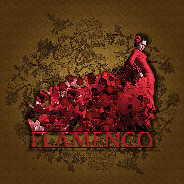 Flamenco Digital Art  - Flamenco Fine Art Print