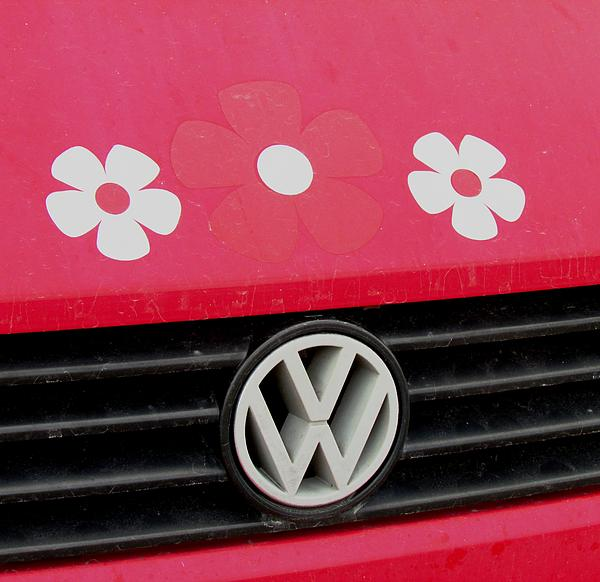 Car Photograph - Flower Power by Will Boutin Photos