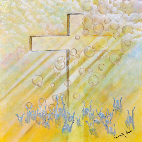 For The Cross Painting  - For The Cross Fine Art Print