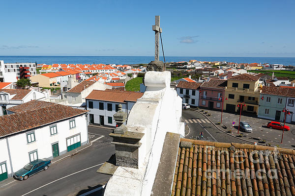 Azores Photograph - From The Church Tower by Gaspar Avila