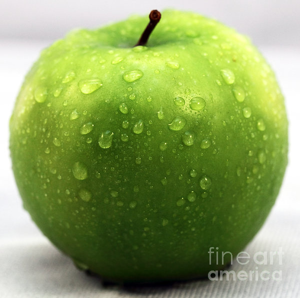 Green Apple Photograph  - Green Apple Fine Art Print