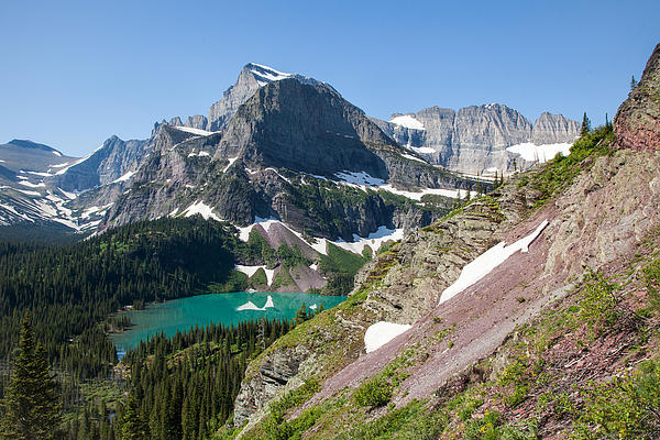 Jack Bell - Grinnell Lake Gem of Glacier