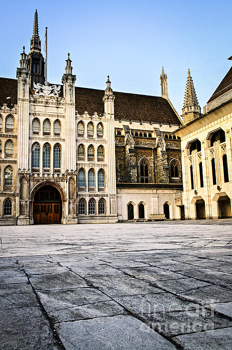 Guildhall Photograph - Guildhall Building And Art Gallery by Elena Elisseeva