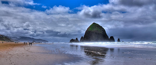 Cannon Beach Photograph - Haystack Rock Iva by David Patterson