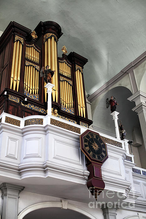 Historic Organ Photograph  - Historic Organ Fine Art Print