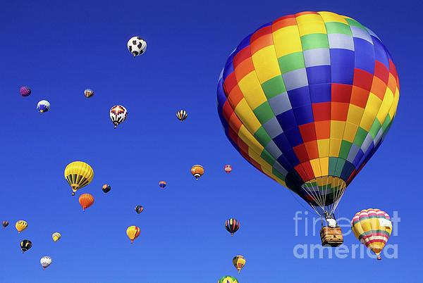 Hot Air Balloons 15 Photograph  - Hot Air Balloons 15 Fine Art Print