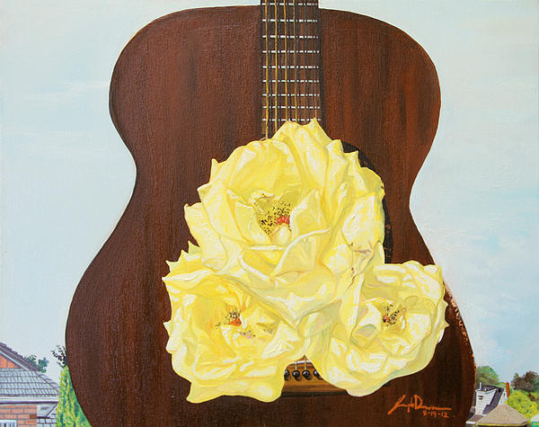 Acoustic Painting - In-between Notes by Joseph Demaree
