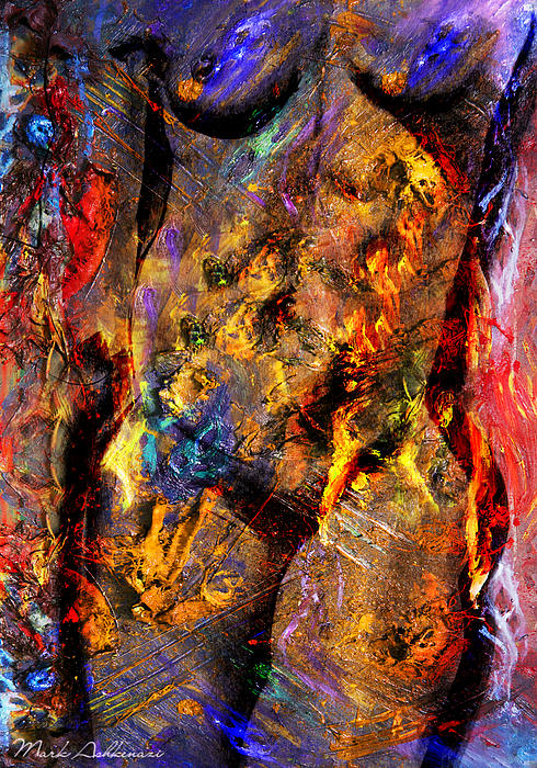 Colors Painting - In My Mind  by Mark Ashkenazi