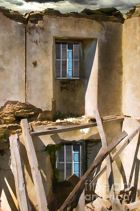 Vertical Photograph - In Need Of Repair by Liane Wright