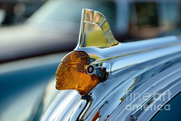 Paul Ward - Indian Head Hood Ornament