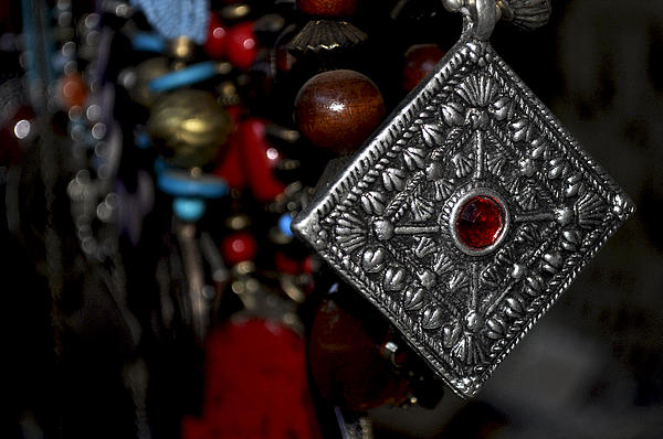 Silver Photograph - Indian Traditional  Jewellery  by Loganathan E