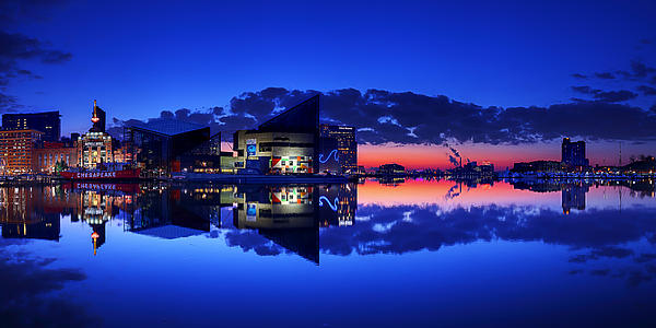 Inner Harbor Sunrise Photograph  - Inner Harbor Sunrise Fine Art Print