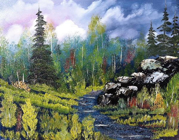 Landscape Painting - Into The Wilderness by Roy Gould