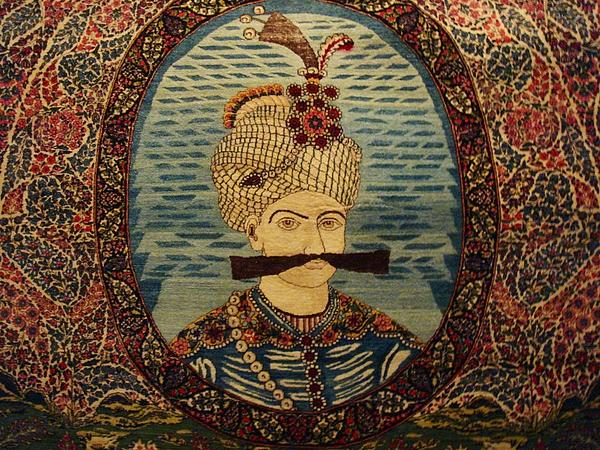 Carpet Photograph - Iran King Abbas Carpet Museum Tehran by Lois Ivancin Tavaf